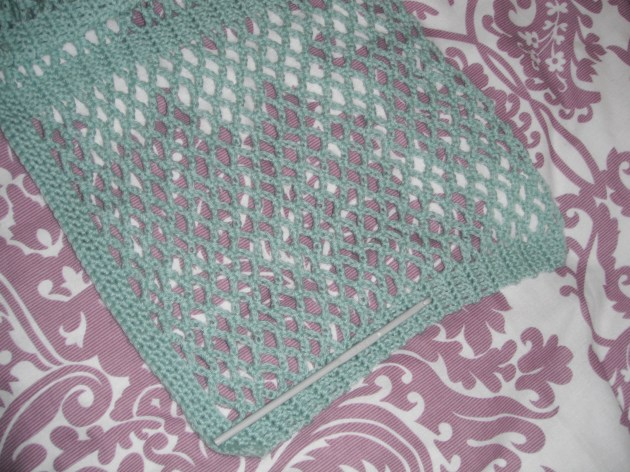 Lace Cardi growth spurt!